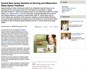 dentist, dentistry, sleep, apnea, snoring, new, jersey, nj