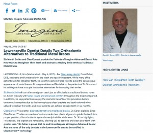dentist in new jersey,six month smiles,clearcorrect,fast way to straighten teeth,clear braces